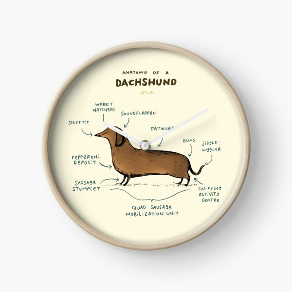 Anatomy of a Dachshund Clock