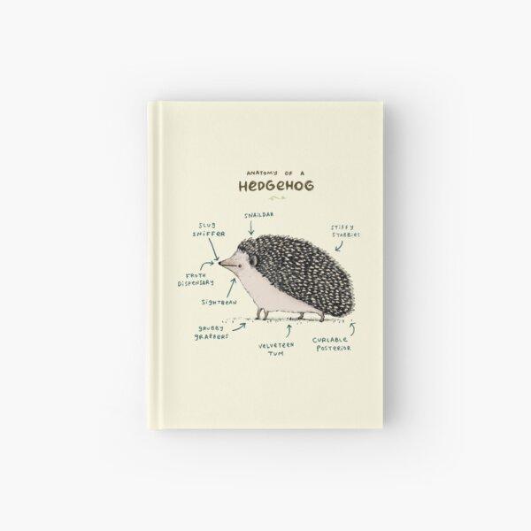 Anatomy of a Hedgehog Hardcover Journal