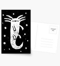 Axolotl Print Postcards
