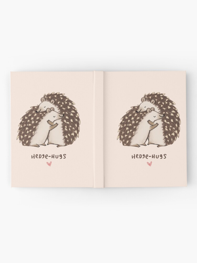 Vista alternativa de Cuaderno de tapa dura Hedge-Hugs