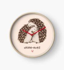 Hedge-Umarmungen Uhr