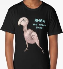 Rhea the Naked Birdie Long T-Shirt