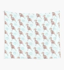 Rhea the Naked Birdie Wall Tapestry
