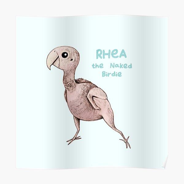 Rhea the Naked Birdie Poster