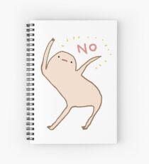 Honest Blob Says No Spiral Notebook