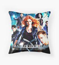 Shadowhunters Throw Pillow
