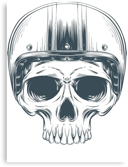 Skull helmet black 1 by Fabien  photofab.fr