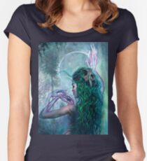 Shaman Bones Women's Fitted Scoop T-Shirt
