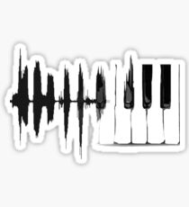 Piano Cardio  Sticker