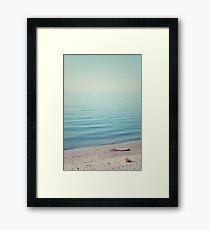 The Calm Framed Print