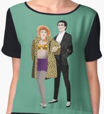 The Cramps, Lux and Ivy Chiffon Top