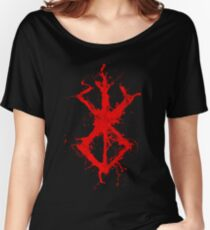BERSERK SPLATTER Women's Relaxed Fit T-Shirt