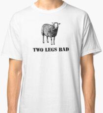 Two Legs Bad Sheep Classic T-Shirt