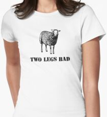 Two Legs Bad Sheep Women's Fitted T-Shirt