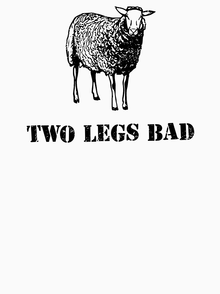 Two Legs Bad Sheep by TheShirtYurt