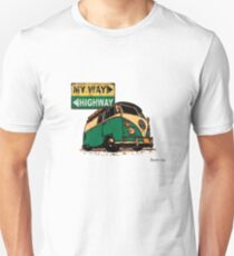 My Way VW Split Screen Unisex T-Shirt