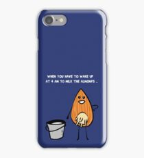 Vegans unite! iPhone Case/Skin