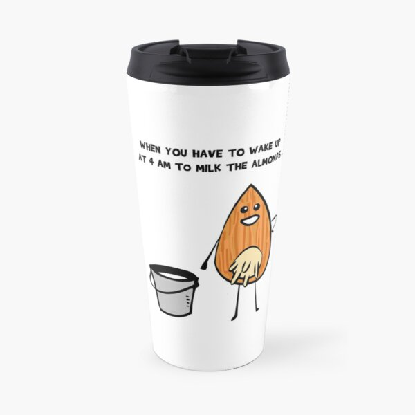 Vegans unite! Travel Mug