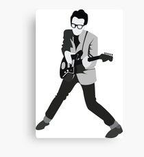 Elvis Costello Print Canvas Print