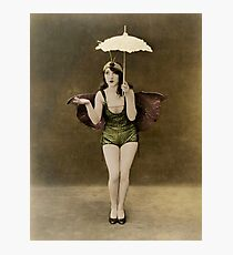 Victorian Circus Performer Photographic Print