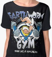 Earthworm Gym Chiffon Top