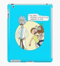 Rick & Morty - Easter iPad Case/Skin