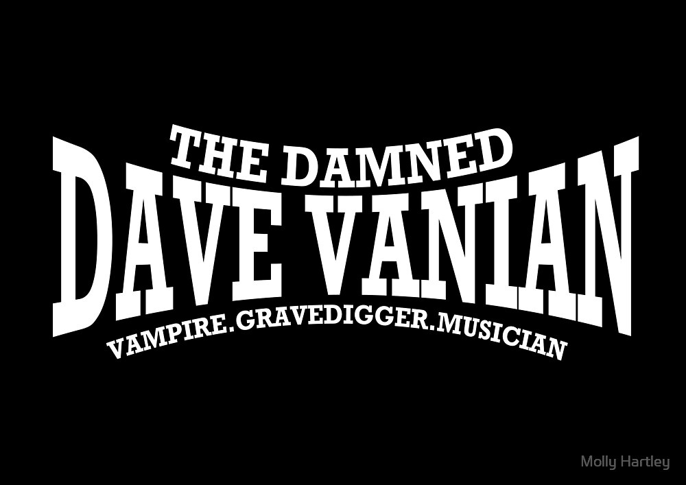 Dave Vanian Title and Description - In White by Molly Hartley