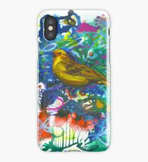 Yellowhammer in Spring Glory iPhone Case