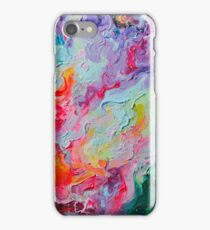 Elements - Spectrum Abstraction iPhone Case/Skin