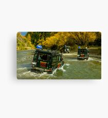 LOTR Jeep Tour, Queenstown Canvas Print