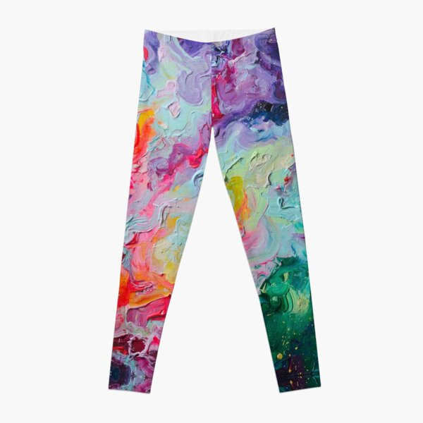 Elements - Spectrum Abstraction Leggings