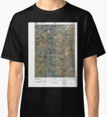 USGS TOPO Maps Iowa IA Ollie 20100422 TM Classic T-Shirt
