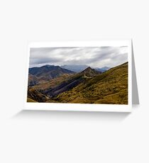 LOTR location, Queenstown, New Zealand Greeting Card
