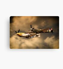 Old Flying Machines Canvas Print