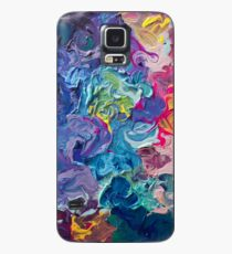 Funda/vinilo para Samsung Galaxy Rainbow Flow Abstraction