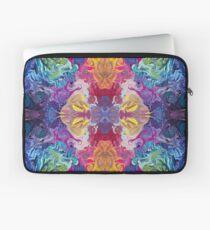 Rainbow Flow Abstraction Laptop Sleeve