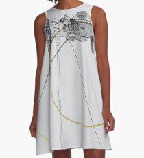 Cassini A-Line Dress