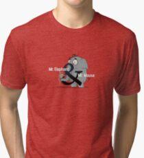 Mr. Elephant & Mr. Mouse Tri-blend T-Shirt