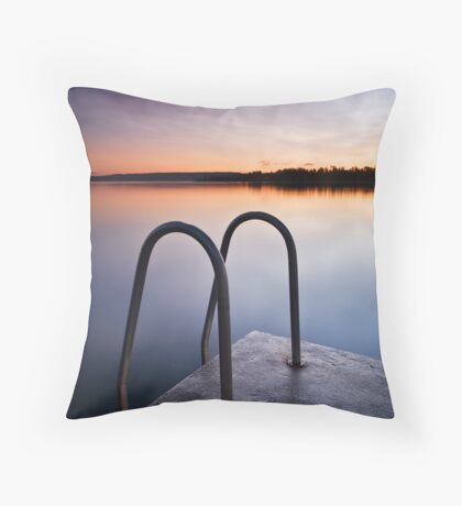 Blue Skies Forever Revisited Throw Pillow