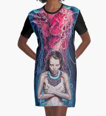 Metamorphosis Graphic T-Shirt Dress