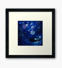 It's Jellyfishing Outside Tonight Framed Print