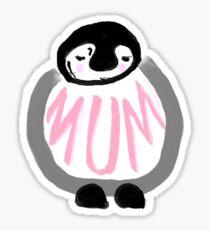 Penguin Mum Sticker