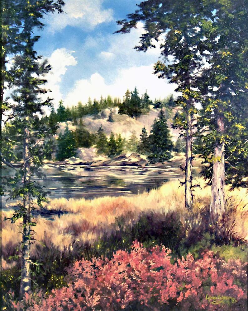 Hopper Lake, Oregon by Lynne Wright