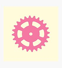 Cog and Roll (pastel) Photographic Print