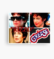 GREASE - RIZZO - COLLAGE #2 Canvas Print