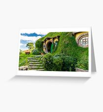 Bag End, Hobiton, Rotorua, New Zealand Greeting Card
