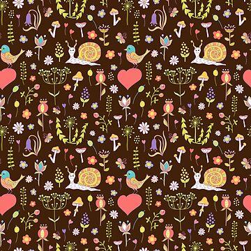 Seamless pattern for children by genevskayamariy