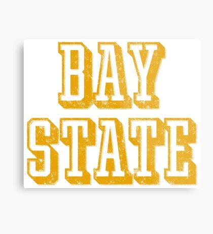 The Bay State - Vintage & Retro Metal Print