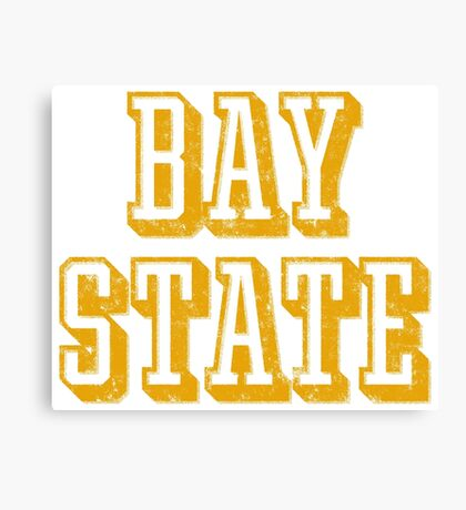 The Bay State - Vintage & Retro Canvas Print