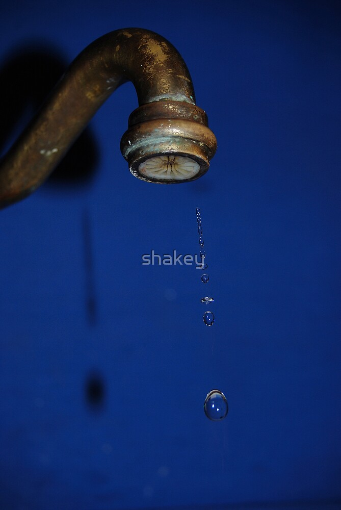 Leaky old tap by shakey